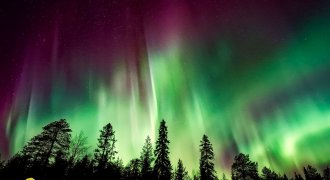Aurora in Islanda